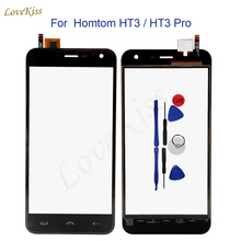 "Buy 5.0"" Homtom HT3 Touch Screen Panel Digitizer Homtom HT3 Pro Touchscreen Sensor Front Outer Glass Replacement Tools Track for $5.13 in AliExpress store"
