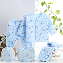 2017 Newborns Baby Clothing Set 5pcs/set Cotton Designed for Carter Baby Boys winter Clothes Cute Casual Underwear