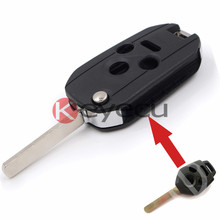Modified Folding Remote Key Shell Keyless Entry Case Fob 3+1 Button for Subaru Legacy Outback