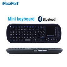 Portable Wireless Mini Bluetooth Keyboard With Touchpad Air Mouse For Android/iOS OS Mini PC Warm Home keyboards free shipping(China)