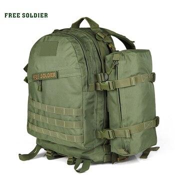 """FREE SOLDIER, усовершенствованный рюкзак второго поколения, тактический  рюкзак """"Атака"""", рюкзак для путешествия по горам, туризма, нейлоновый Локальная доставка"""