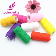 Multi option Nylon Coil elasticity cord Screen flower material florist handmade accessory 3roll/8roll approx 50y/roll 20050008