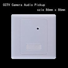 CS-50 Sound Monitor Audio Pickup Security Listening for CCTV Camera Audio Camera Microphone