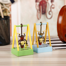 Car Styling ABS Swing Monkey Solar Powered Car Dashboard Decoration Ornaments Cute Home Decor Children Kids Toy Gift Accessories(China)