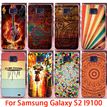 Soft Phone Cases For Samsung Galaxy SII I9100 S2 GT-I9100 Cases Rock Guitar Hard Back Cover Skins Shell Housing Sheath Bag Hood