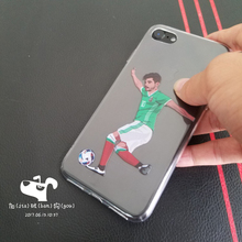 Football star case for iphone 6 6s se 5s 4 4s 5c 5 s,Tecatito phone shell for iphone 7 plus for samsung cover custom made