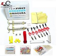 High quality,Bike Bicycle Hydraulic Disc Brake Oil Bleed Kit tool For TEKTRO MAGURA louise marta HS33 HS11 ECHO ZOOM CSC(China)