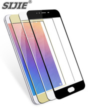 SIJIE full screen Tempered Glass For meizu M3S M5 M5S phone Screen protect cases Cover HOT SALE discount 9H black gold White