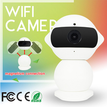 HD 264 1.3 Mp 960P Mini WIfi Smart Net Ip Camera Idoor Monitor  Security  Family P2P Onvif SD 64G Card  1/3 Cmos  With IR LED