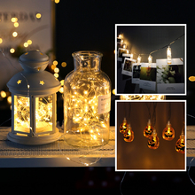 2M 3M 5M 10M LED String Lights CR2032/AA Battery Operated Fairy Starry Lamps for Holiday Christmas Party Halloween Decoration(China)