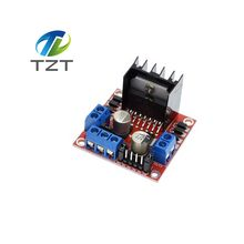 Special promotions 10pcs/lot L298N motor driver board module L298 for arduino stepper motor smart car robot