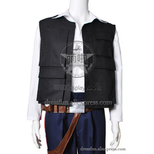 Star Wars Episode IV A New Hope Cosplay Han Solo Costume Halloween Fashion Party Fast Shipping(China)