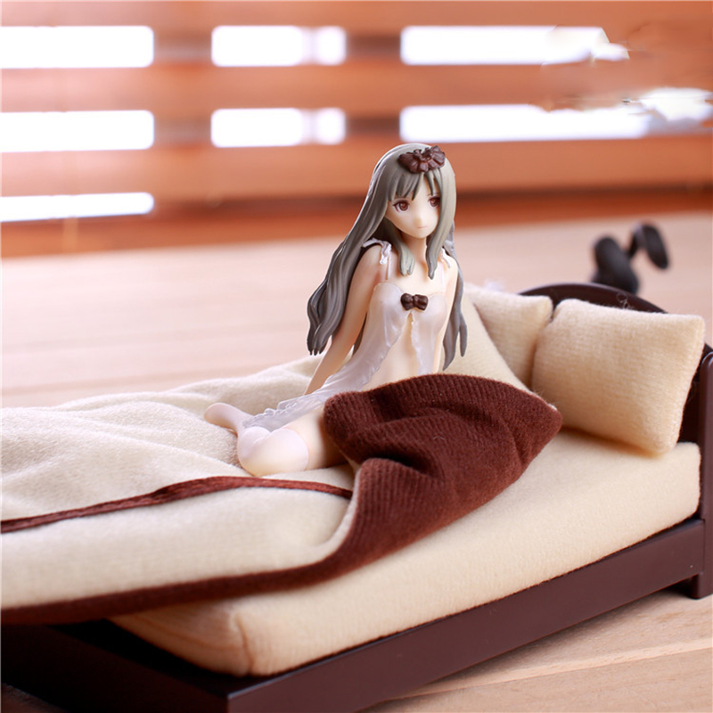 Anime Maiden cartoon characters Native TONY Night of the country 1/12 with bed Action Figure toys model doll<br>