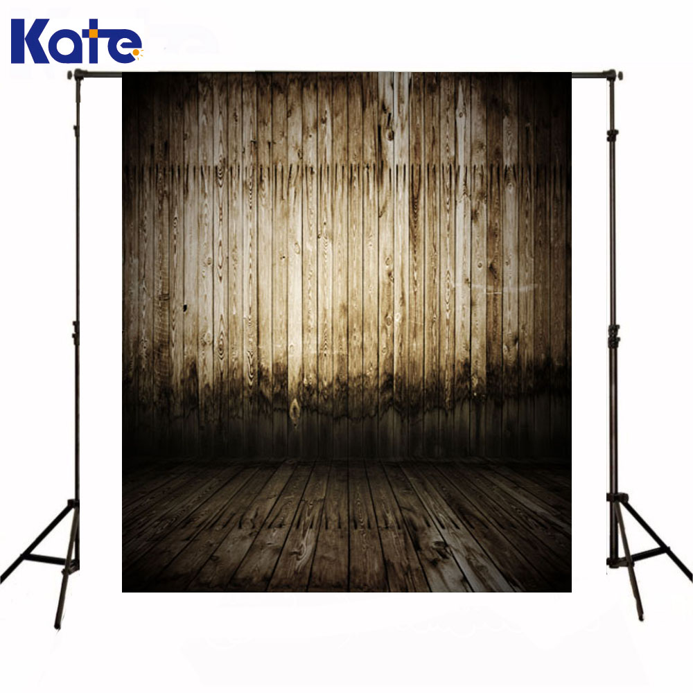 Kate Newborn Baby Backdrops Photography Wooden Wall Fotografico Madeira Dark Wood Texture Floor Backgrounds For Photo Shoot<br>