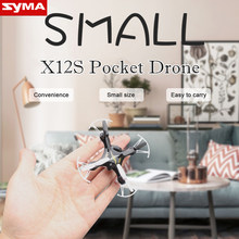 Buy SYMA X12S RC Drone 4CH 6 Axis Mini Pocket Size Quadcopter Remote Control Helicopter Indoor Outdoor Aircraft Children Toys Gift for $23.72 in AliExpress store