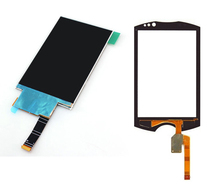 White LCD Display Panel Monitor + Touch Screen Digitizer Glass Sensor Repair Replacement for Sony Ericsson WT19 WT19a WT19i