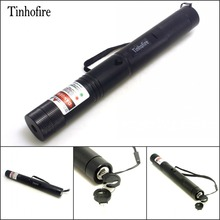 Tinhofire Laser 308 pen 2 in 1 two-color red and green star 200mw laser pointer Laser Flashlight