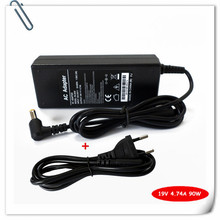 90W Laptop AC Adapte for Acer Aspire 5580 5920 69200 5930 6530 5220 4820TG Notebook Battery Charger Power Supply Cord 19V 4.74A(China)