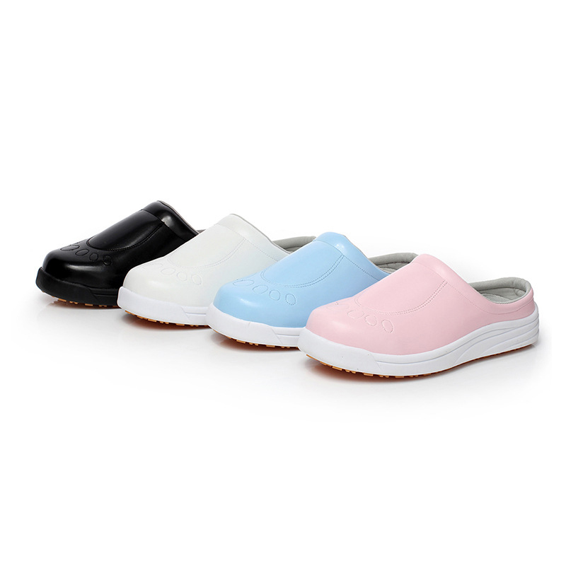 2018 New High Quality Mens Waterproof Chef Work Shoes Light Color Unisex Hospital/Food Factory/Laboratory/Kitchen Work 35-45<br>