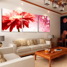No Frame Red Leaf Swan Poster Canvas Paintings Decoration Home Decor Posters Canvas Painting Wall Pictures Living Room Picture(China)