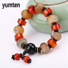 Buy Yumten Male Bracelet Agate Buddha Natural Stone Jewelry Power Chakra Healing Handmade Cozinha Bts Meditation Love Wholesale 5PCS for $37.59 in AliExpress store