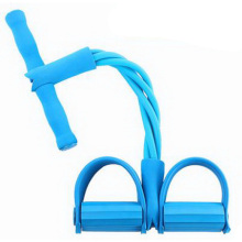 L330111/Fitness equipment /household sports lose weight thin waist/ tension device /pedal pull rope /Four root Rubber tube/