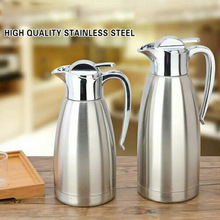 2L Stainless Steel High Quality Vacuum Flask Food Grade Big Capacity Vacuum Bottle Free Shipping(China)