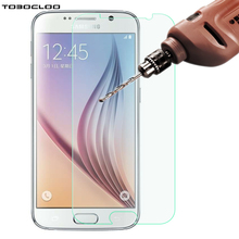 TOBOCLOO Tempered Glass For Samsung Galaxy S3 S4 S5 S6 G530 j3 j320 J2 j7 j5 2016 Grand Prime Case Cover Film Screen Protector(China)