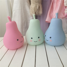 New typs hot selling LED Children sleep night light Creative pears luminous toys light interior lighting decorative bedside lamp(China)