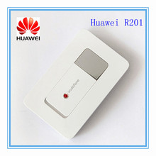 3g mifi router Vodafone HUAWEI R201 HSUPA 3g WIFI Router,Tri-band (900/1900/2100) 7.2Mbps(China)