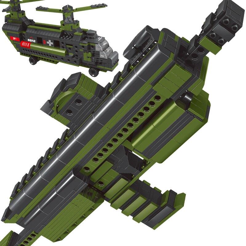 592 pcs 81068 Plastic 2 in 1 MP7 Submachine Gun Weapon Model Building Block Sets  Educational DIY Bricks Toys gift for kids<br><br>Aliexpress