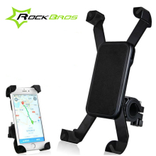 ROCKBROS Bike Accessories Bike Bag Bicycle Bag Anti-Slip Black MTB Bag Smart Phone Holder Mountain Bike Cycling Handlebar 45