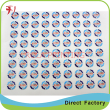 High quality dome epoxy crystal sticker