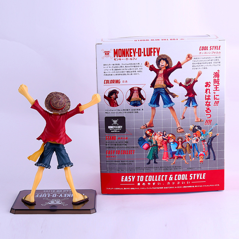 One Piece Figure Movie Version Monkey D Luffy Action Toy Figures One Piece Toy Decoration<br><br>Aliexpress