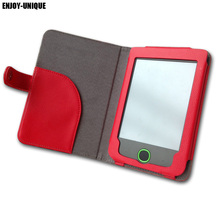 "Free Shipping 6"" Inch ebook pu Leather Pocketbook 614 624 626 Cover Case with Card Holder(China)"