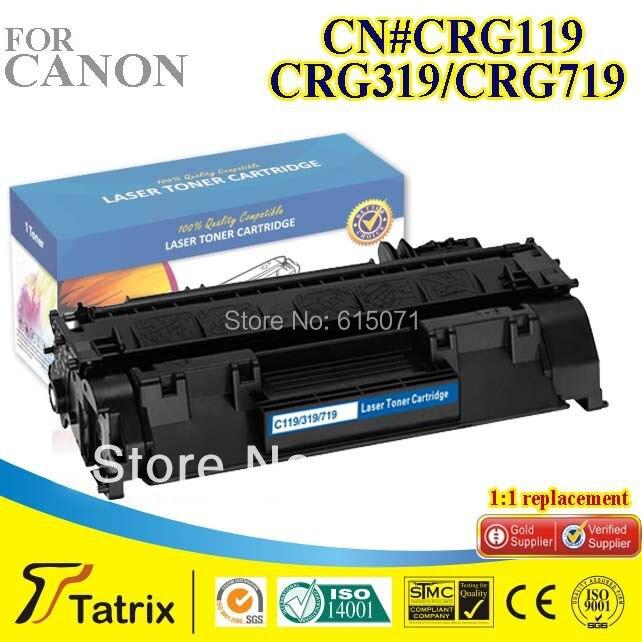 Black CRG 319 Toner Cartridge Compatible CRG 319 Cartridge Toner for Canon Free Shipping<br><br>Aliexpress