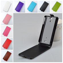 High quality J&R Brand Flip PU Leather Case For Sony Xperia V LT25I Cover Full Protect Skin Vertical Magnetic Phone Bag 9 colors