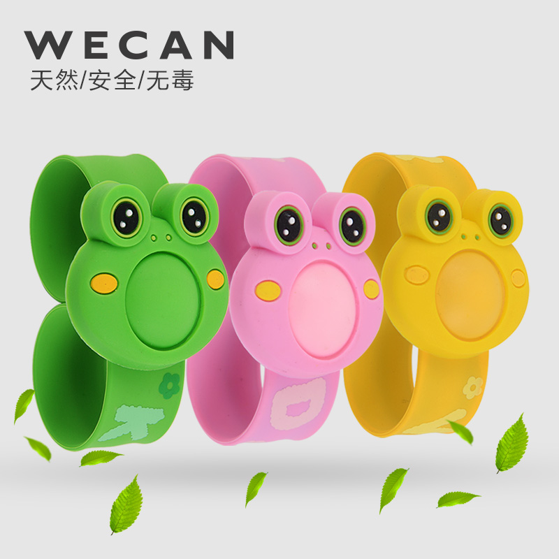 Non-toxic children's outdoor mosquito repellent bracelet mosquito repellent paste plant mosquito ring pops band(China (Mainland))