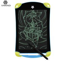 "8.5"" LCD Writing Digital Drawing Board Message Memo Electronic Tablet Kids Electronic Handwriting Painting Screen Pad(China)"