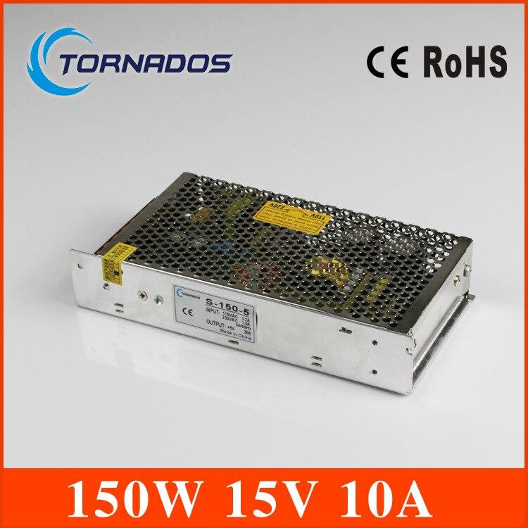 power supply 15v 150w 15v 10A power supply 150w 15v led power supply unit ac dc converter S-150-15<br>