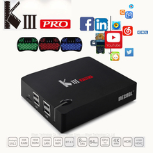 Buy MECOOL KIII Pro DVB T2 Android TV Box 3G 16G Amlogic S912 Octa Core 4K H.265 Decoding 2.4G+5G Dual Band WiFi BT 4.0 Media Player for $124.69 in AliExpress store