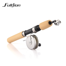 Winter Fishing Rods Ice Fishing Rods Fishing Reels To Choose Rod Combo Pen Pole Lures Tackle Spinning Casting Hard Rod 1pcs(China)