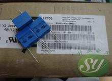 50pcs EPCOS 0.082uf / 300vAC 82nf 823 The new 15mm film capacitor B32022A3823M free shipping(China)