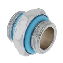 Wholesale 1pcs G1/4 Dual External Thread Tube Connector 18 mm Diameter Water Cooling Accessories for PC Water Cooling System(China)