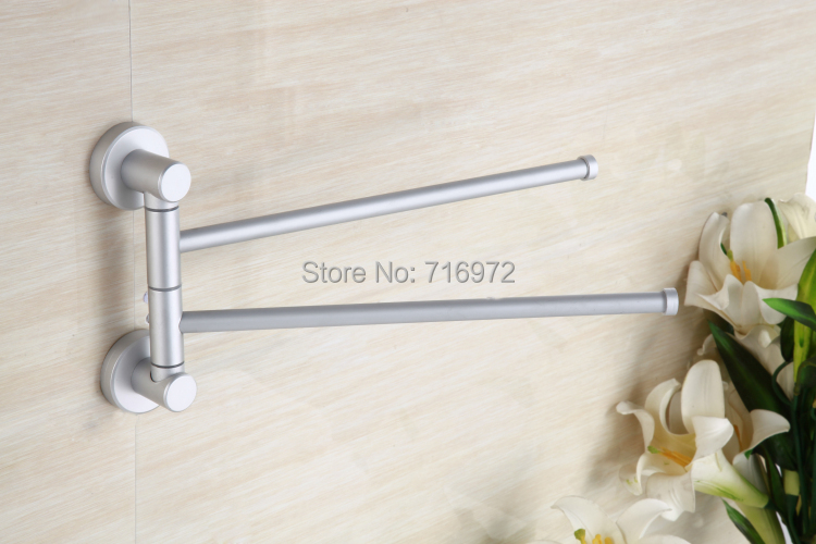 Free Shipping Wall Mounted Double Layers Reinforced Type(28.5cm), Towel Holder,Towel Bar,Bathroom Accessories-Wholesale8022<br><br>Aliexpress