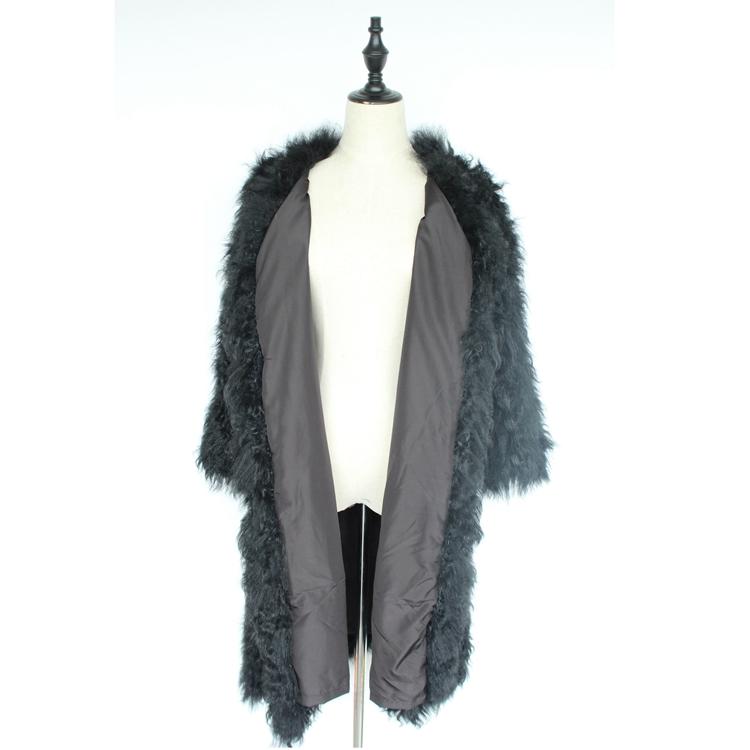 women natural lamb sheep fur coat (19)