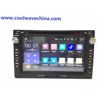 car radio Android 6.0 2din for Peugeot 307 1998-2008 VW Passat/JETTA/Bora/Polo/GOLF CHICO/SHARAN Support Rearview/3G/Wifi(China)