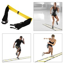 New Durable 9 rung 16.5 Feet 5M Agility Ladder for Soccer and Football Speed Training With Carry Bag/Fitness Equipment  ISP