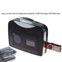 Portable Digital USB Cassette Audio Music Player and Tape-To-MP3 Converter (Driver and Computer not required) 9.21