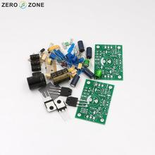 GZLOZONE PNP Sanken W0302 JLH1969 Single-ended Class A Power Amplifier Kit 10W+10W(China)